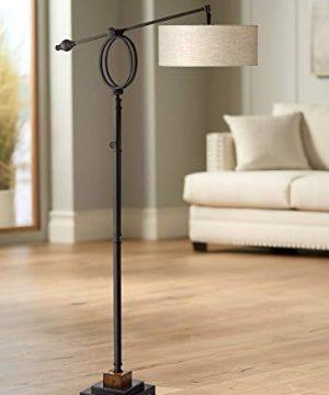 Henley Adjustable Boom Arm Floor Lamp By Uttermost 0 300x360
