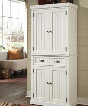 Home Styles Nantucket Pantry White Distressed Finish 0 0 300x360