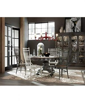 Hooker Furniture Arabella Bunching Display Cabinet In Charcoal 0 0 300x360