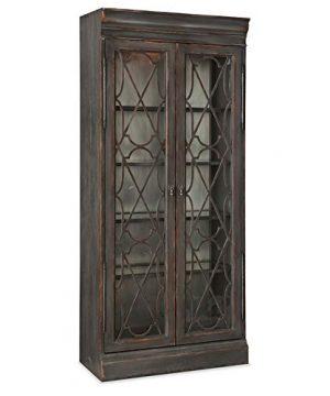 Hooker Furniture Arabella Bunching Display Cabinet In Charcoal 0 1 300x360