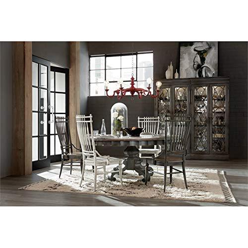 Hooker Furniture Arabella Bunching Display Cabinet In Charcoal 0 2