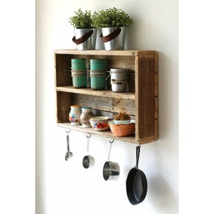 Rustic+Double+Wall+Shelf