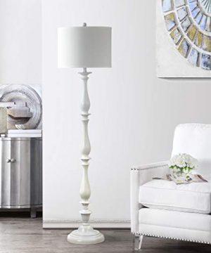 Safavieh Lighting Collection Bessie Candlestick White 62 Inch Floor Lamp 0 300x360