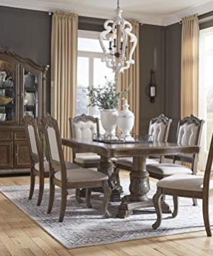 Signature Design By Ashley Charmond Dining Room China Brown 0 0 300x360