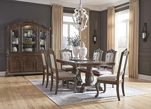 Signature Design By Ashley Charmond Dining Room China Brown 0 0