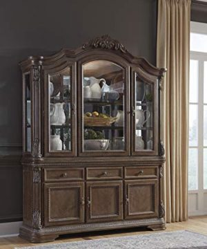 Signature Design By Ashley Charmond Dining Room China Brown 0 1 300x360