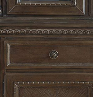 Signature Design By Ashley Charmond Dining Room China Brown 0 2 300x315
