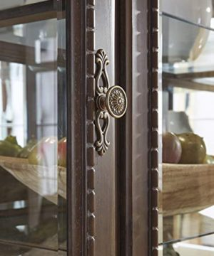 Signature Design By Ashley Charmond Dining Room China Brown 0 3 300x360