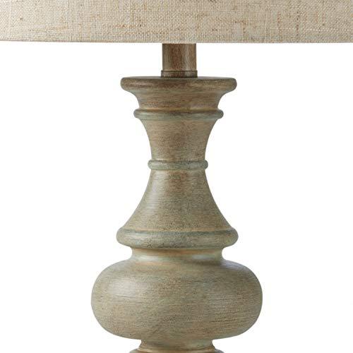 Amazon Brand Stone Beam Vintage Farmhouse Table Lamp 205H Distressed Gray 0 1