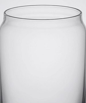 Ecodesign Drinkware Libbey Beer Glass Can Shaped 16 Oz Pint Beer Glasses 4 PACK Wcoasters 0 5 300x360