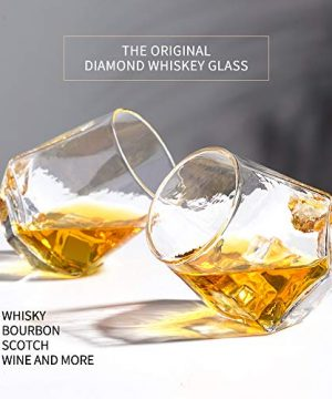 Glassware Whiskey Glasses Set 6Whiskey Tumbler For Bourbon Scotch Best As Old Fashioned Glasses 0 0 300x360