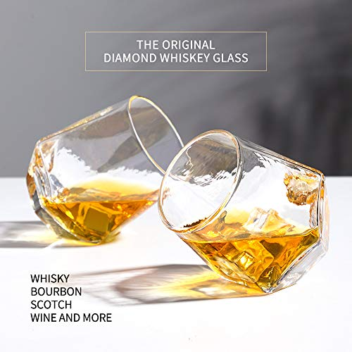 Glassware Whiskey Glasses Set 6Whiskey Tumbler For Bourbon Scotch Best As Old Fashioned Glasses 0 0