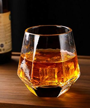 Glassware Whiskey Glasses Set 6Whiskey Tumbler For Bourbon Scotch Best As Old Fashioned Glasses 0 1 300x360