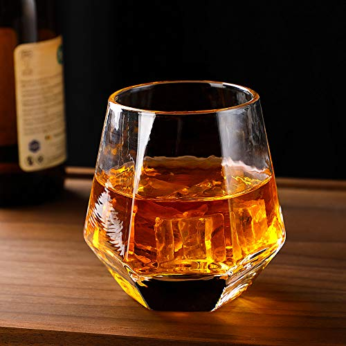 Glassware Whiskey Glasses Set 6Whiskey Tumbler For Bourbon Scotch Best As Old Fashioned Glasses 0 1