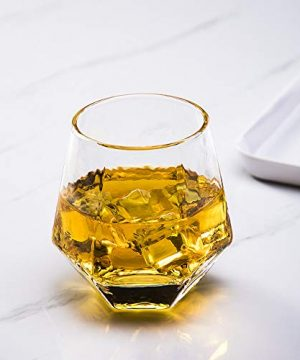 Glassware Whiskey Glasses Set 6Whiskey Tumbler For Bourbon Scotch Best As Old Fashioned Glasses 0 3 300x360