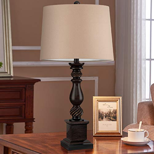 Oneach Table Lamp Set Of 2 For Bedroom Rustic Bedside Table Desk Lamps For Living Room Study Office 24 Minimalist Lamps Set Bronze 0 0