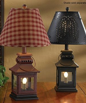 Park Designs Iron Lantern Lamp Black 0 300x360