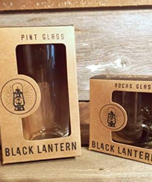 Pint Glasses By Black Lantern Handmade Craft Beer Glasses And Bar Glassware Pine Tree Forest Design Set Of Two 16oz Glasses 0 1 300x360