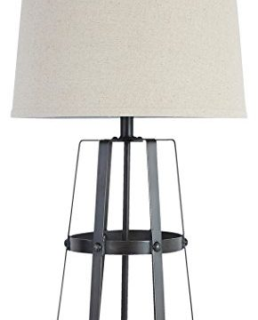Signature Design By Ashley Samiya Industrial Metal Table Lamp Antique Black 0 290x360