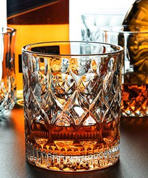 Whiskey Glass Set Of 2 Mountain Crystal Wedge Glass Old Fashioned Tasting Tumblers Funny Gift Box For Dad 0 1 300x360