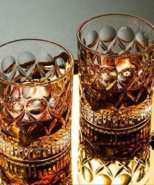 Whiskey Glass Set Of 2 Mountain Crystal Wedge Glass Old Fashioned Tasting Tumblers Funny Gift Box For Dad 0 2 300x360