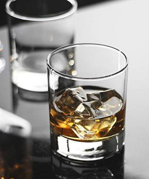 Whiskey Glasses Premium 11 OZ Scotch Glasses Set Of 6 Old Fashioned Whiskey GlassesPerfect Idea For Scotch LoversStyle Glassware For BourbonRum GlassesBar Whiskey GlassesClear 0 0 300x360