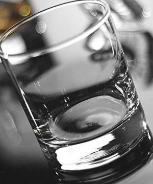 Whiskey Glasses Premium 11 OZ Scotch Glasses Set Of 6 Old Fashioned Whiskey GlassesPerfect Idea For Scotch LoversStyle Glassware For BourbonRum GlassesBar Whiskey GlassesClear 0 1 300x360