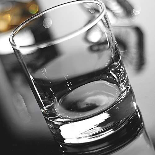 Whiskey Glasses Premium 11 OZ Scotch Glasses Set Of 6 Old Fashioned Whiskey GlassesPerfect Idea For Scotch LoversStyle Glassware For BourbonRum GlassesBar Whiskey GlassesClear 0 1