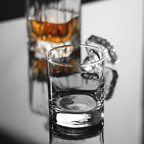 Whiskey Glasses Premium 11 OZ Scotch Glasses Set Of 6 Old Fashioned Whiskey GlassesPerfect Idea For Scotch LoversStyle Glassware For BourbonRum GlassesBar Whiskey GlassesClear 0 2