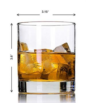 Whiskey GlassesSet Of 211 OzPremium Scotch GlassesBourbon Glasses For CocktailsRock Style Old Fashioned Drinking GlasswarePerfect For Fathers Day GiftsPartyBars Restaurants And Home 0 1 300x360
