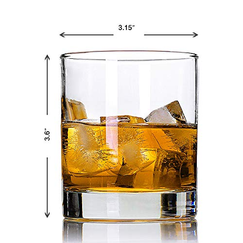 Whiskey GlassesSet Of 211 OzPremium Scotch GlassesBourbon Glasses For CocktailsRock Style Old Fashioned Drinking GlasswarePerfect For Fathers Day GiftsPartyBars Restaurants And Home 0 1