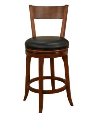 American Heritage Billiards Autumn Bar Height Stool Suede 0 300x360