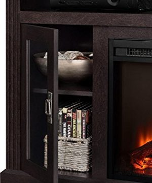 Ameriwood Home Chicago Electric Fireplace TV Console For TVs Up To A 50 Espresso1764096PCOM 0 0 300x360