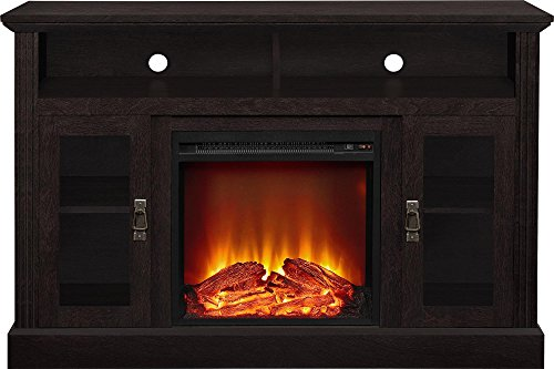 Ameriwood Home Chicago Electric Fireplace TV Console For TVs Up To A 50 Espresso1764096PCOM 0 1