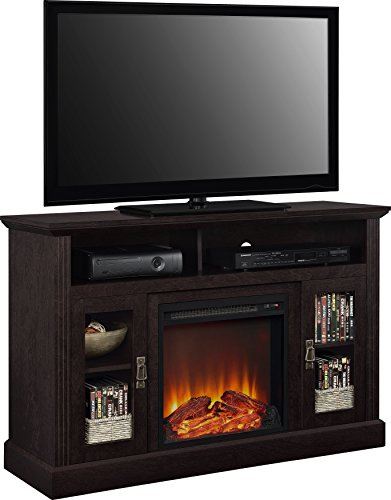 Ameriwood Home Chicago Electric Fireplace TV Console For TVs Up To A 50 Espresso1764096PCOM 0 2