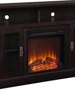 Ameriwood Home Chicago Electric Fireplace TV Console For TVs Up To A 50 Espresso1764096PCOM 0 300x360