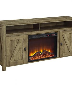 Ameriwood Home Farmington Electric Fireplace TV Console For TVs Up To 60 Natural 0 0 300x360