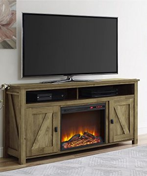 Ameriwood Home Farmington Electric Fireplace TV Console For TVs Up To 60 Natural 0 1 300x360