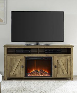 Ameriwood Home Farmington Electric Fireplace TV Console For TVs Up To 60 Natural 0 2 300x360