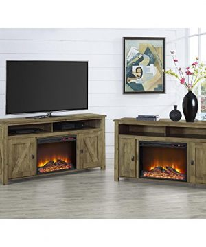 Ameriwood Home Farmington Electric Fireplace TV Console For TVs Up To 60 Natural 0 3 300x360