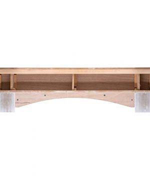 Ashley Hearth ASHTRMK W 60 In X 10 In Traditional Hearth Mantel In Smooth White Finish 0 1 300x360