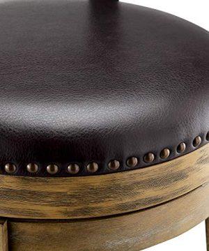 Ball Cast Swivel Barstool Counter Height Light Brown HSA 1001B 0 3 300x360