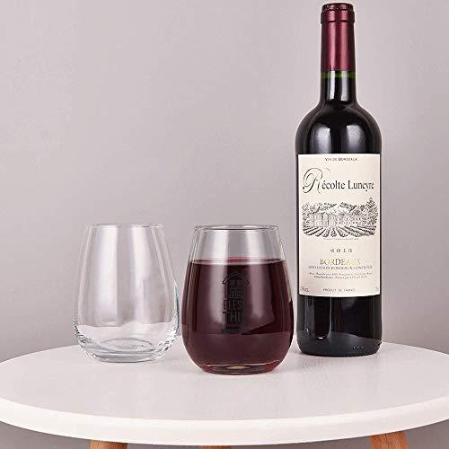 Bless This Farmhouse Stemless Wine GlassWine Taster Glasses For Men Decorative Wine Glass Etched Wine Glass Sandblasted Engraved Wine Glass 0 0