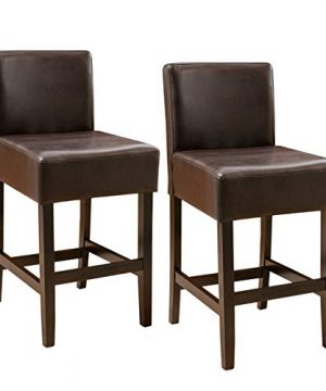 Christopher Knight Home Portman Counterstool Brown 0 300x360