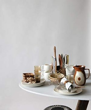 Creative Co Op 42 Oz Stoneware Reactive Glaze Finish Each One Will Vary Pitcher Brown 0 0 300x360