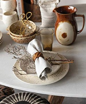 Creative Co Op 42 Oz Stoneware Reactive Glaze Finish Each One Will Vary Pitcher Brown 0 2 300x360
