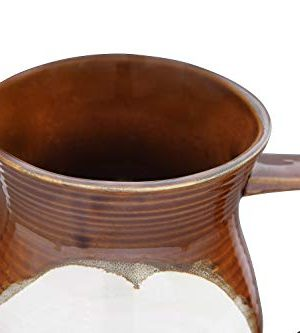Creative Co Op 42 Oz Stoneware Reactive Glaze Finish Each One Will Vary Pitcher Brown 0 4 300x333