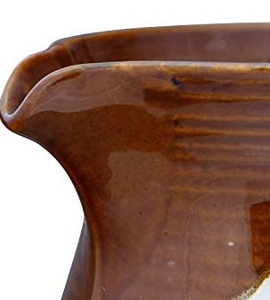 Creative Co Op 42 Oz Stoneware Reactive Glaze Finish Each One Will Vary Pitcher Brown 0 5 300x333