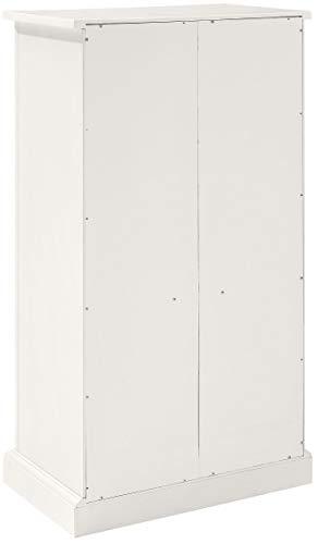 Crosley Furniture Seaside Accent Cabinet White 0 2