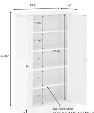 Crosley Furniture Seaside Accent Cabinet White 0 4 300x360